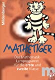 Mathetiger 1 / 2. CD-ROM: Einzellizenz bis zu drei Anwender.Das Mathematik-Lernprogramm f�r die erste und zweite Klasse Bild