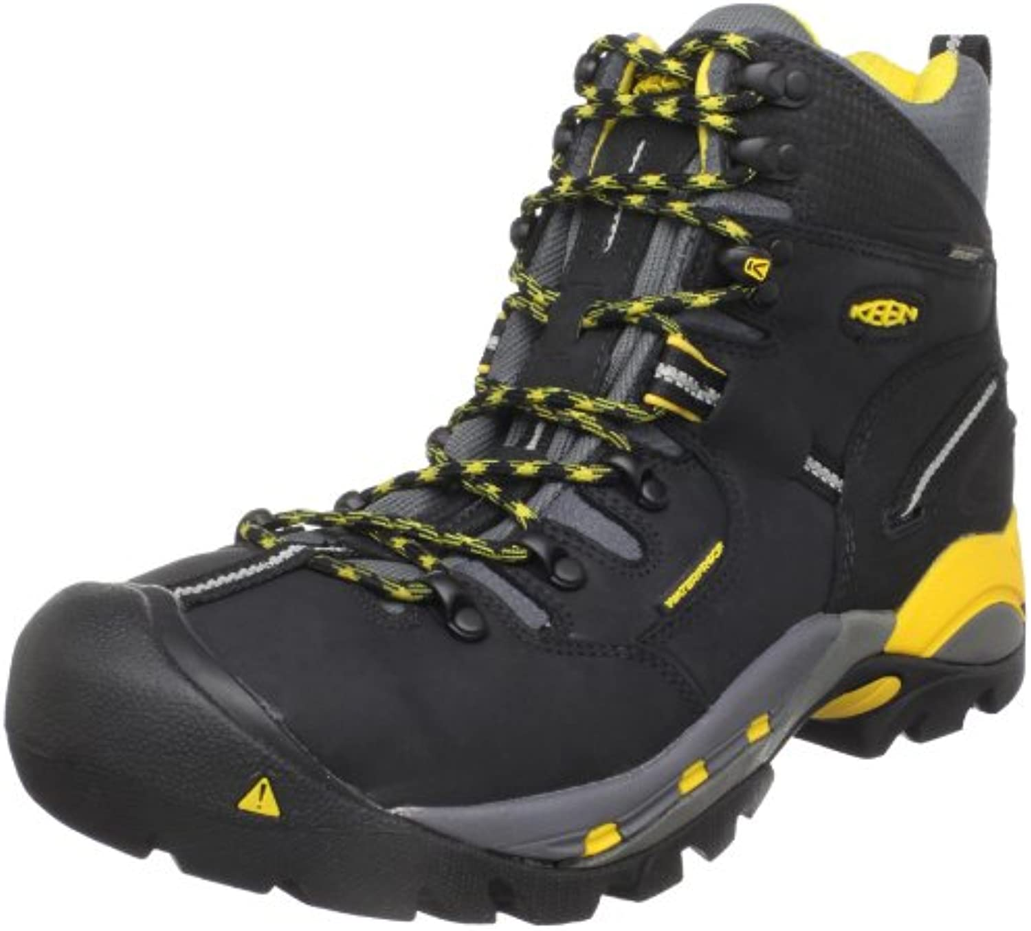 Keen Utility Men's Pittsburgh Steel Toe Work Boot Black 7 D US