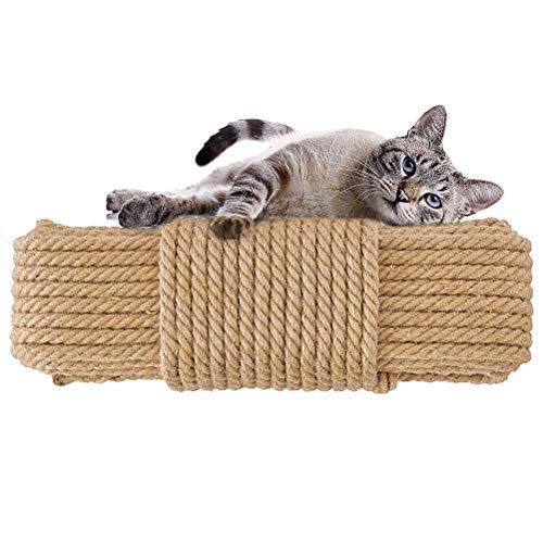 Aoneky, corde in fibra di agave di ricambio per tira-graffi per gatto