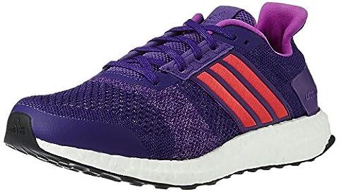 adidas Women's Ultra Boost ST W Running Shoes, Varios Colores (Morado (Puruni / Pursho / Puruni)),