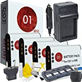 4X DOT-01 Brand Olympus TG-Tracker Batteries And Charger For Olympus TG-Tracker Camera And Olympus TG Tracker Accessory Bundle For Olympus LI92B LI-92B