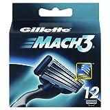 Gillette Mach 3Lot de 12cartouches