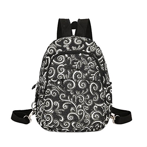 Yy.f Denim Kleine Schultertasche Weibliche Brust Paket Dual-Use-Taschen Mini-Urlaubsreisen Segeltuchbeutel Schulterkurierbeutel Mehrfarben B