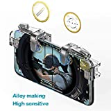 #10: Gamers Yard Mobile Game Controller【Upgraded Version】- PUBG / Fortnite / Knives Out Mobile Controller, Non-slip Sensitive Shoot and Aim Triggers for L1R1 Mobile Game Trigger Joystick for Android & iPhone