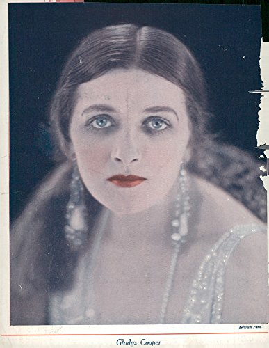 Vintage photo of Actress Gladys Cooper
