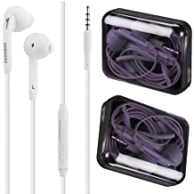 Auriculares auténticos Samsung blancos, auriculares manos libres para Samsung Galaxy S6/S6Edge S7/S7Edge S8/S8Plus (en caja)