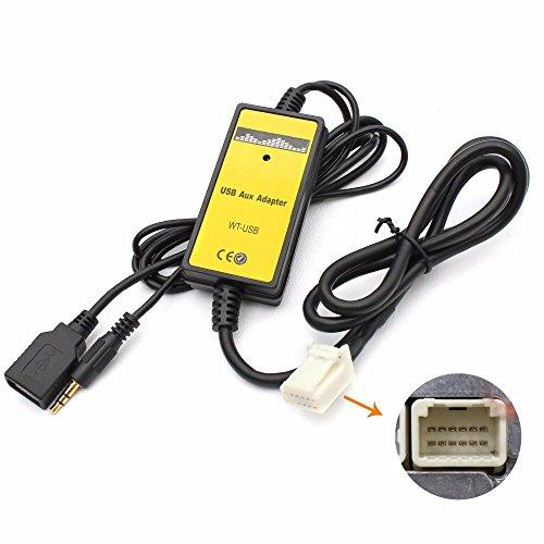 coche-digital-usb-mp3-interface-adaptador-con-35-mm-aux-en-entrada-para-toyota-camry-corolla
