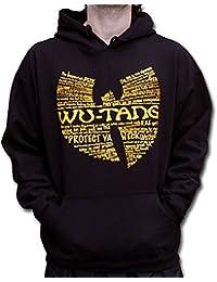 Wu Wear - Wu Tang Clan - Wu Wear Protect Hooded - Wu-Tang Clan Tamaño 3XL, Color asignado Black