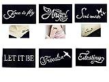 Tattoo Schablonen / Vorlagen 6 kleine Sheet Set Mini 3 für Henna Tattoo Glitter Tattoo Air Brush Tattoo