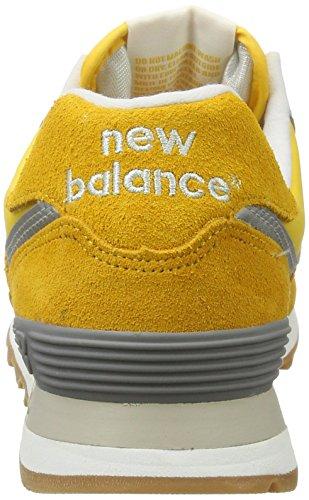 New Balance Herren 574 Vintage Sneakers Gelb (Yellow)
