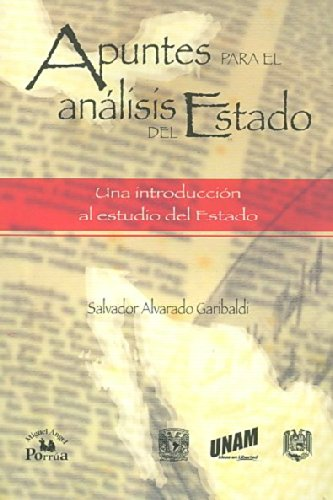 Apuntes para el analisis del Estado/ Notes for the State Analysis: Una introduccion al estudio del estado/ An Introductory Study of the State