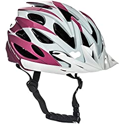 Sport Direct™ 22 respiraderos Menor Chica Rosa Ciclismo Casco 54-56cm