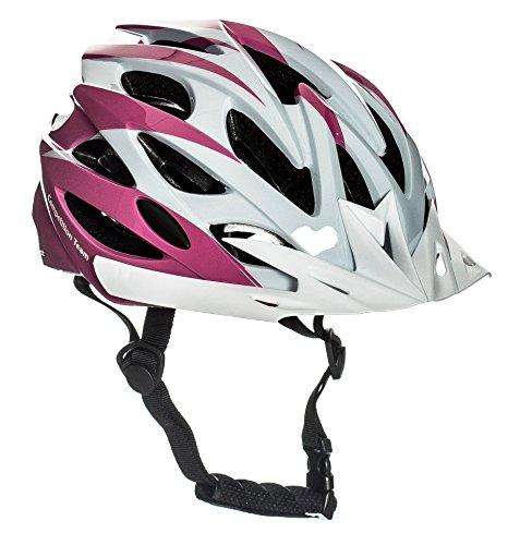Sport DirectTM Fahrrad Kinder Jugend Helme Mädchen Rosa 54-56cm