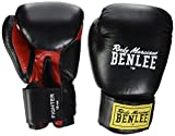 BENLEE Rocky Marciano Boxhandschuhe FIGHTER, Black/Red, 18 oz, 19406