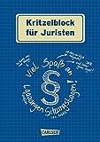Kritzelblock für Juristen