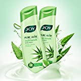 #4: Joy Pure Aloe Multi-Benefit Moisturizing Body Lotion, For All Skin Type, Ideal For Men & Women (Pack of 2 X 300ml)