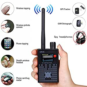 Anti Spy Amplification Wireless RF Bug Camera GPS Signal Detector UPGRADE G318