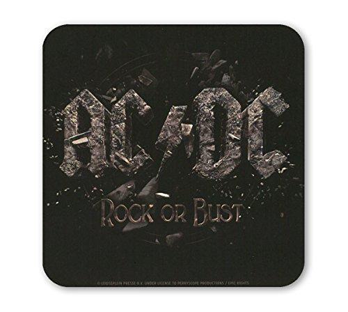 AC/DC - Rock Or Bust Sottobicchiere sughero - Coaster - Design originale concesso su licenza