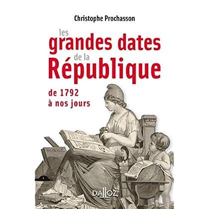 Les grandes dates de la République - 1ère édition
