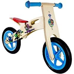Paw Patrol - Bicicleta de madera (Darpeje OPAW012)
