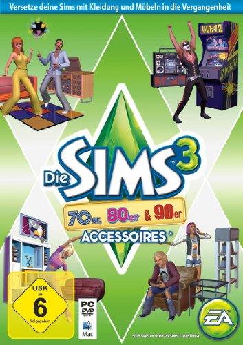 Die Sims 3: 70er, 80er & 90er - Accessoires (Add-On) (Kleidung Für 20 Verkauf Den)