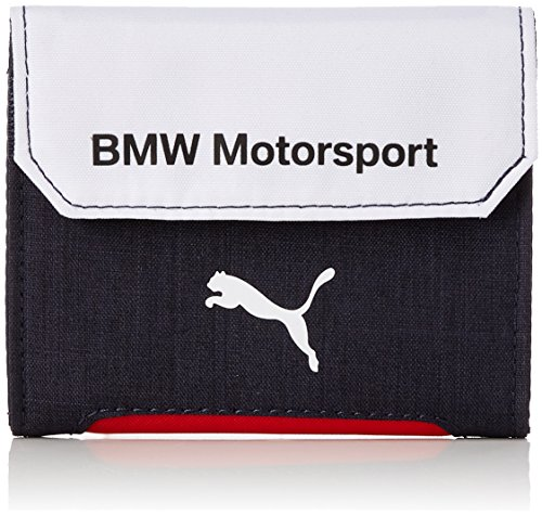 Puma BMW Motorsport Wallet Portefeuille, Team Blue/White, 12 x 10 x 1,5 cm