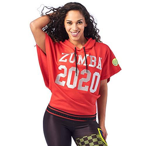 Zumba active gym - felpa senza maniche per allenamento fitness really red-y s