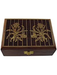 Indian Jewelry Holder - 17.5 x 12.5 x 5.3 cm - Jewelry Boxes for Bracelet - Anniversary Gift for Her