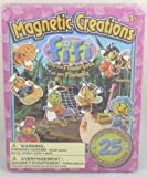 Magnetic Creations Playset - 25 Magnetic Pieces - Fifi And The Flowertots by Trading House