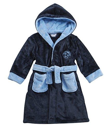 Minikidz - Robe de chambre - Femme Bleu - SKY/NAVY FOOTBALL EMBROIDERY