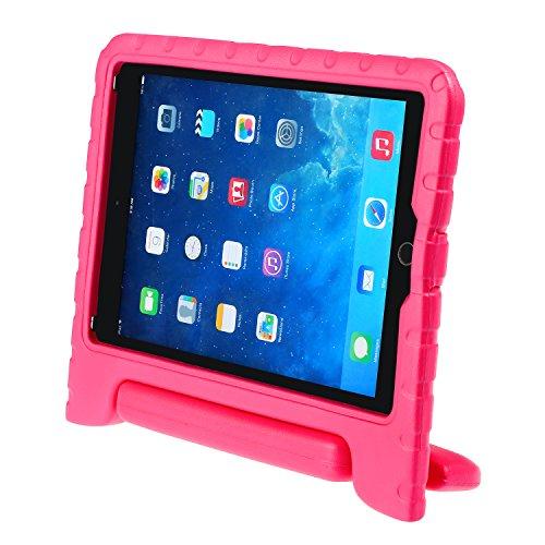iPad 9.7 2017 Kinder Schutzhülle LEADSTAR Kinderfreundlich Kinder Schutz Hülle EVA Case Leichte Stoßfeste Schutzhülle Tasche Cover für Apple iPad Air / iPad Air2 / iPad 9.7 2017 (Rosa)