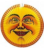 Riethmüller 2330 - Lampion Mond, Durchmesser circa 60 cm, schwer entflammbar