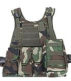 ThreeH Forces de l'ordre Gilet tactique Équipement de paintball militaire Vêtement d'équipement de protection de l'armée de police SA0103C