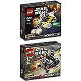 LEGO STAR WARS Juego de 2 75161 75162 TIE Striker MICROFIGHTER + krennic's IMPERIAL SHUTTLE Microfighter
