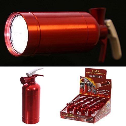 Mini LED Taschenlampe Feuerlöscher
