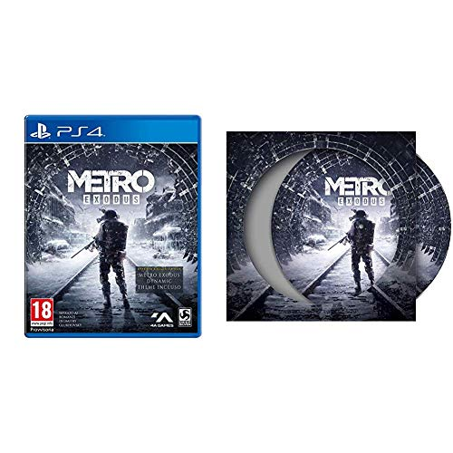 Metro Exodus - Vinyl Edition [Esclusiva Amazon] - PlayStation 4