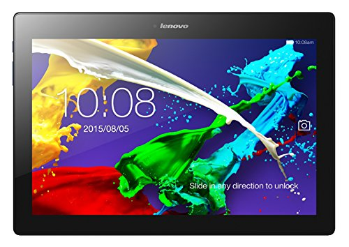 Lenovo TAB2 A10-30 25,65 cm (10,1 Zoll HD IPS) Media Tablet (QC APQ8009 Quad-Core Prozessor, 1,3GHz, 2GB RAM, 16GB eMMC, 2MP +  5MP Kamera, Touchscreen, Dolby Atmos Sound, Android 5.1) midnight blau - 2