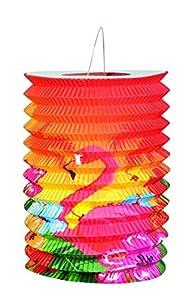 Boland 52508-Juego de 2farolillos de papel Hibiscus Hawaii de 16cm, modelos surtidos