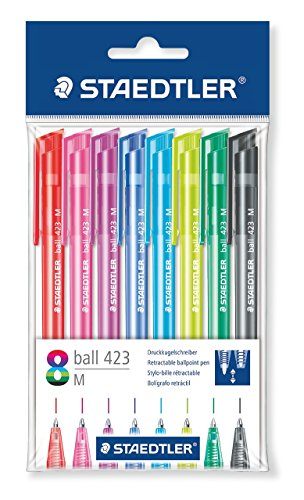 Staedtler 42335MPB8 – Pack de 8 bolígrafos, ball, multicolor, medio