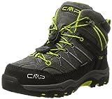CMP Unisex-Kinder Rigel Mid WP Trekking-& Wanderstiefel, Braun (Teak-Asphalt), 30 EU