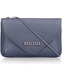 Caprese Tokyo Women's Sling Bag (Dark Blue)