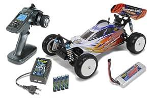 Carson 500404042–1: 10x10eb Dirt Warrior BL Water-Pro 100% RTR