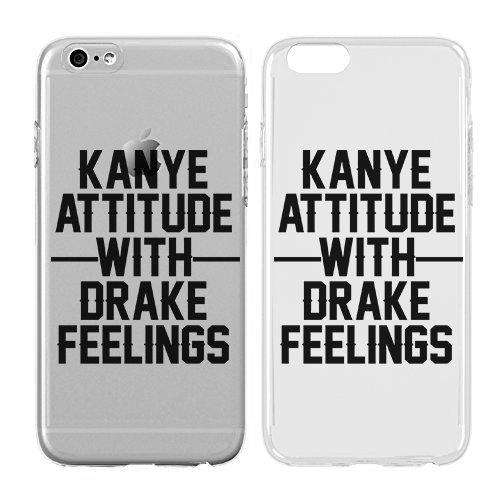 Creme Cookies-Ultra Slim Hard Kunststoff Cover Case-Kanye Attitude mit Drake Gefühle-Niedlichen Quotes-Sassy Telefon Schutzhülle, iPhone 7-127 Basic-cookie