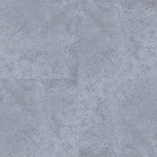 [neu.haus] Laminat Vinyl-Boden Zement Optik - PVC-Design-Bodenbelag selbstklebend - 10 Dekor Dielen = 2,09 qm