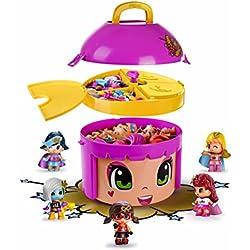 Pinypon Cubo Mix Is MAX Edición Limitada de Superhéroes, 23 x 22 x 21 cm (Famosa 700013570)
