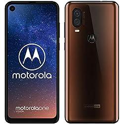 Motorola One Vision (6.3 Pouces, 4Go RAM, 128Go ROM, Double Nano SIM, Android 9.0) Bronze