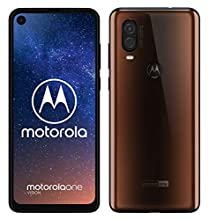 "Motorola One Vision Dual SIM, 128GB, 48MP, Android 9 Pie, Display CinemaVision FHD+ da 6,3"", Bronzo (Bronze Iridescent)"