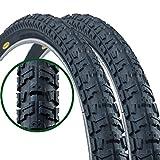 Paar Fincci Road Mountain MTB Mud Offroad Bike Fahrrad Reifen 26 x 2.35 60-559