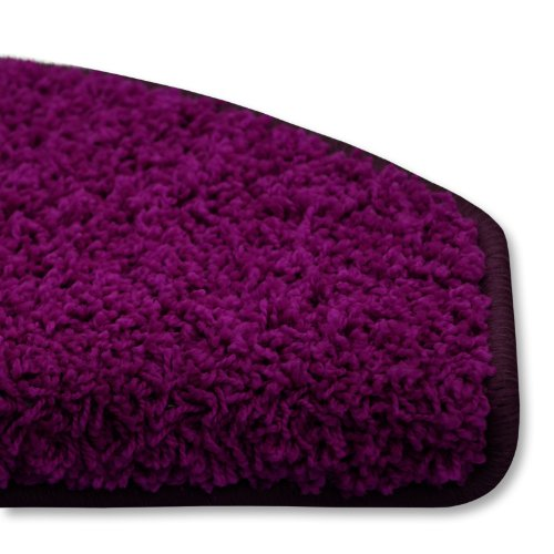 Shaggy Stufenmatten Premium S Line | Violett