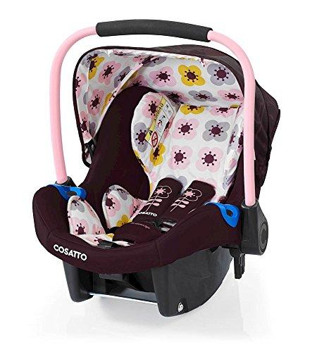 Preisvergleich Produktbild Cosatto Port - Baby Autositz 0-13 kg - Sicherheit + Schutz Für Die Kleinsten - Babyschale / Kindersitz Gruppe 0 - Erstausstattung Für Isofix + 3 Punkt Gurt, Posy